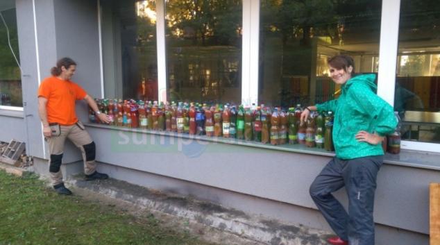 """FOTO. Na šumperské """"Pětce"""" se letos opět moštovalo"""