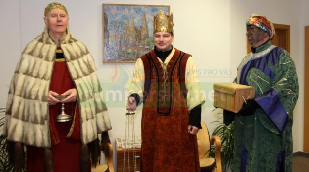 Také na hejtmanství koledovali Kašpar, Melichar a Baltazar