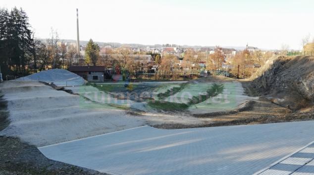 BMX park v lomu dostane zázemí