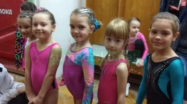 Sezónu zahájila nejmladší a začínající děvčata GK Šumperk