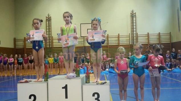 Sportovní gymnastky GK Šumperk uspěly na dalších závodech