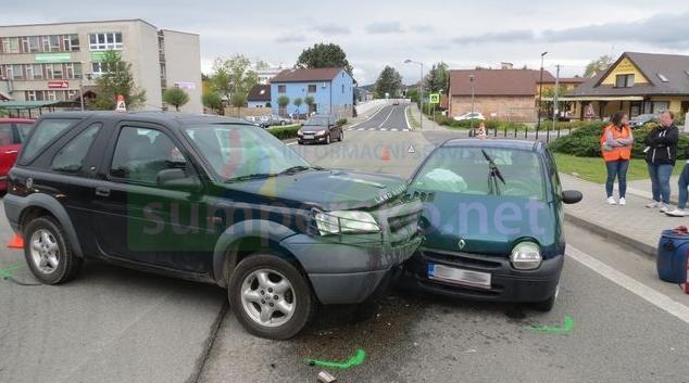 AKTUALIZOVÁNO! Řidička v Bludově nedala přednost