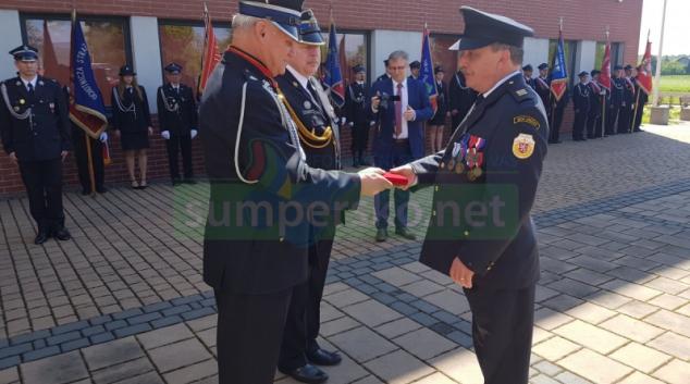 Patrona hasičů sv. Floriána oslavila v Polsku i krajská česká delegace