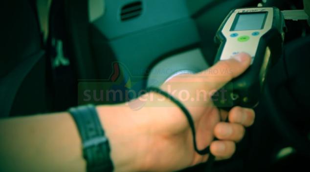 Řidič na Šumpersku vyjel pod vlivem alkoholu