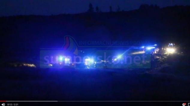 VIDEO. Hasiči likvidovali rozsáhlý lesní požár ve Vojenském prostoru Libavá
