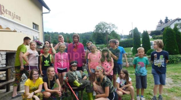 Děti tábořily v Pekařově