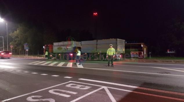 Řidiči kamionů projíždějící Šumperskem nedodržují bezpečnostní přestávky