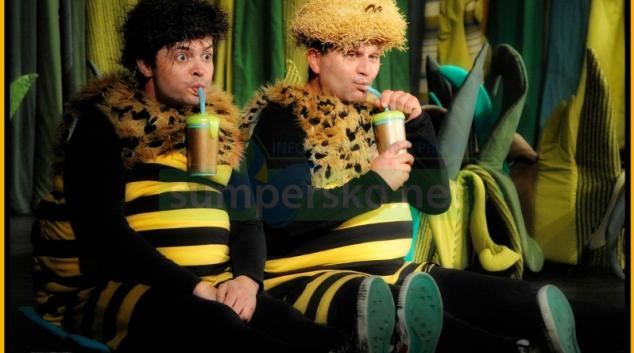 Zimní příhody Včelích medvídků