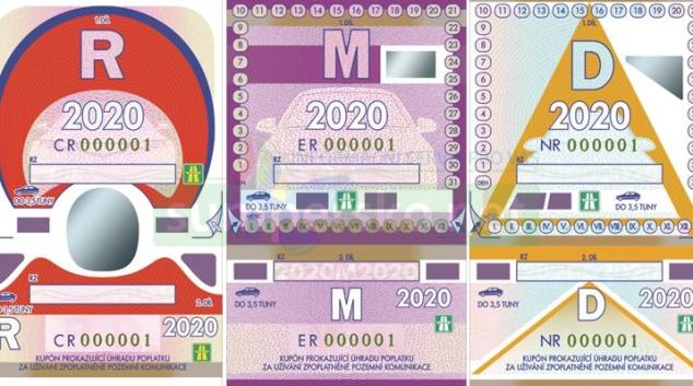 Poslední papírové dálniční známky jsou v prodeji