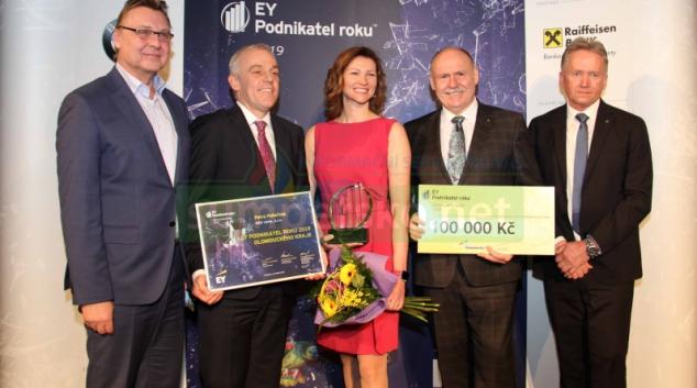 Krajský titul podnikatel roku získala poprvé žena