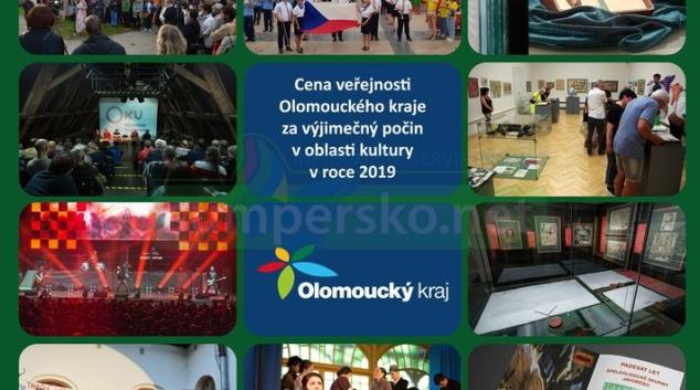 O ceně v oblasti kultury Olomouckého kraje rozhodne napínavé hlasování