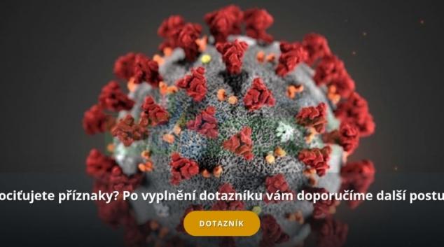 Fakultní nemocnice Olomouc spustila web s informacemi o koronaviru