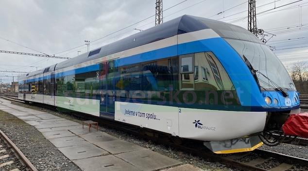 Olomoucký kraj dočasně omezí i vlakovou dopravu