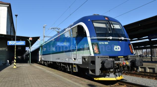 Lokomotiva Taurus na českých kolejích