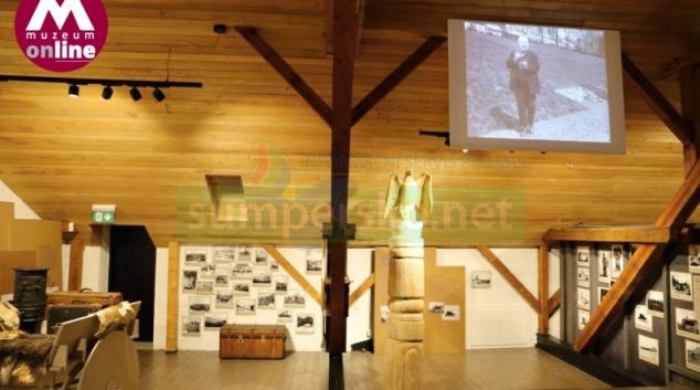 Expozice věnovaná Janu Eskymo Welzlovi