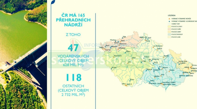 Ministerstvo plánuje rozšířit území pro stavbu vodních nádrží