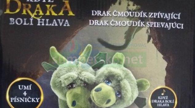 """Pozor na zpívajícího draka """"Čmoudíka"""""""