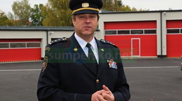 """Profesionální hasič Martin Žaitlik odchází """"do civilu"""""""