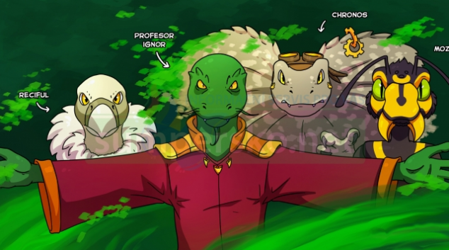 Zooložka namalovala komiksovou hru o zvířecích superhrdinech