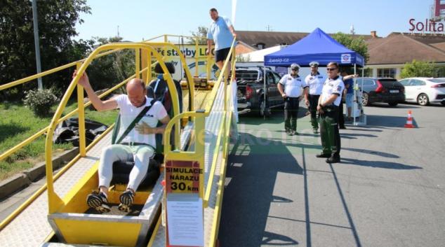 Policie v kraji se zaměřila na bezpečné poutání ve vozidle