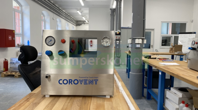 Českému plicnímu ventilátoru CoroVent se otevírají klíčové trhy