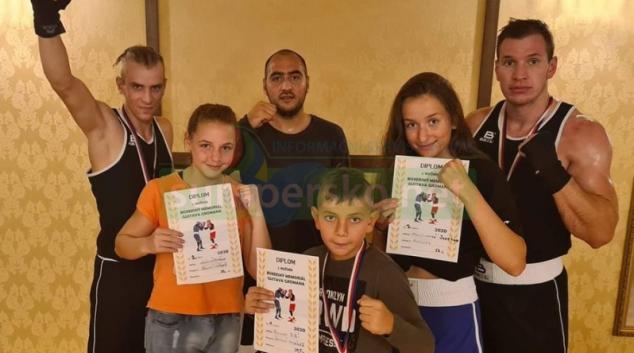 Šumperský boxerský klub přivezl z Opavy medaile