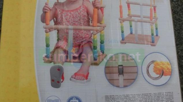 ČOI zakázala na trhu dětskou houpačku