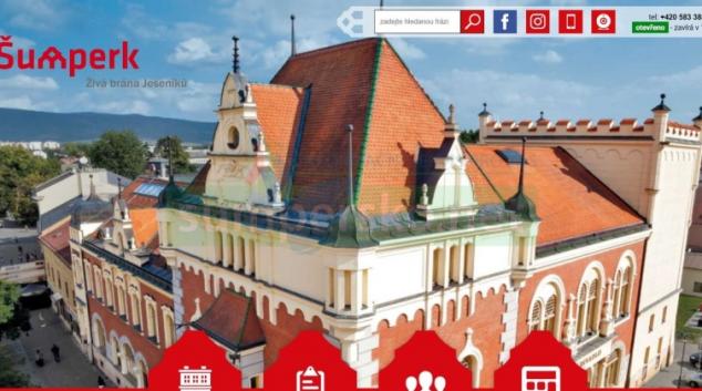 Šumperk má nové webové stránky