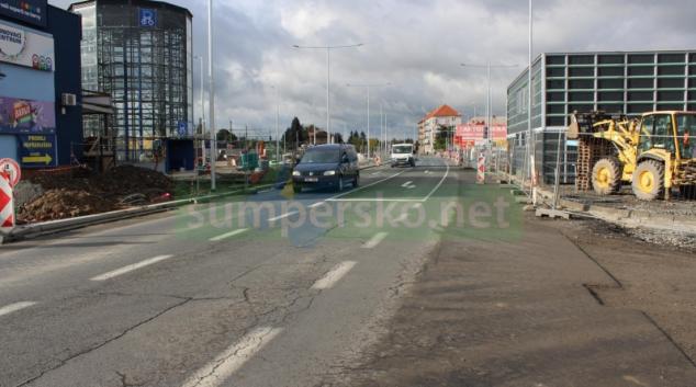 Řidiče v Šumperku čeká dopravní omezení