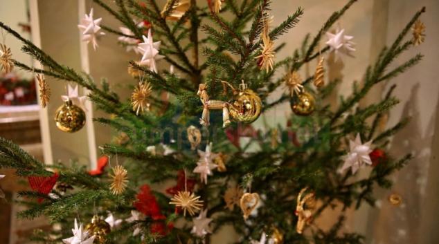 Svoz odložených vánočních stromků