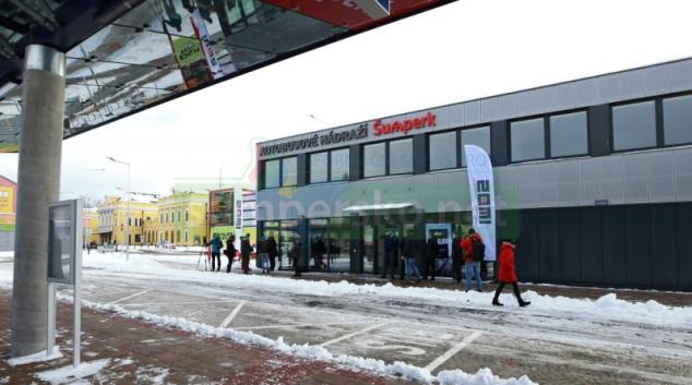 Autobusové nádraží v Šumperku zahájí provoz 18. ledna
