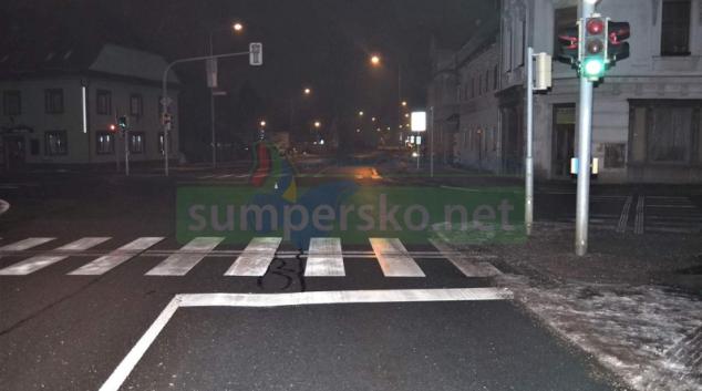 Podnapilý cizinec v Šumperku způsobil nehodu