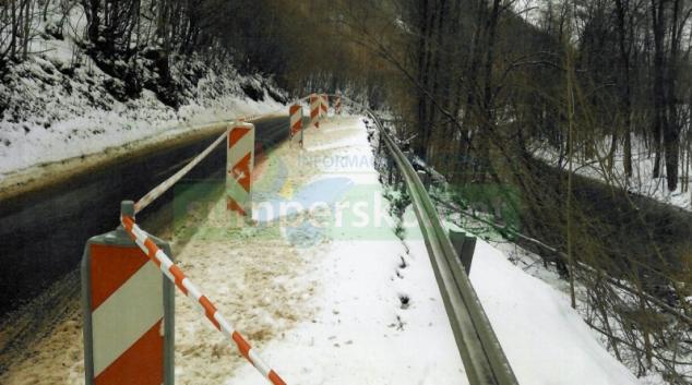 Objíždí se páteřní silniční trasa na Šumpersku