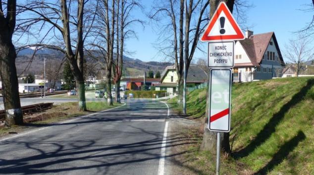 Havárie cyklisty na elektrokole v Jeseníku