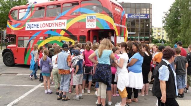 Kampaň Žijeme Londýnem nyní projíždí Olomouckým krajem
