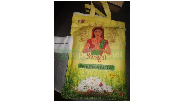 Nevyhovující rýže basmati