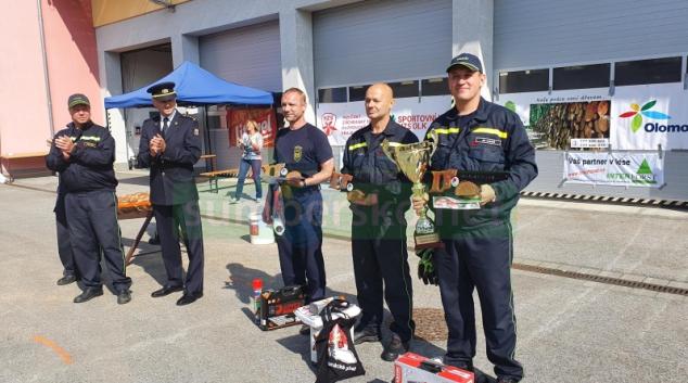 Hanáckého pilaře ovládli hasiči ze Zábřehu