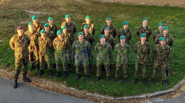 Bezmála čtyřicet budoucích vojáků darovalo krev