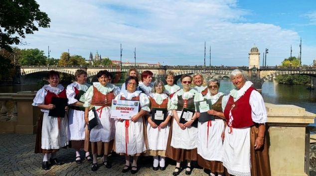Seniorky Šumperk zpívaly v Praze