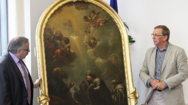 Zámek v Čechách pod Kosířem skrýval umělecký klenot
