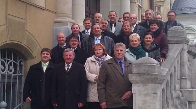 Šumperk navštívili starostové ze slovenského okresu Prievidza