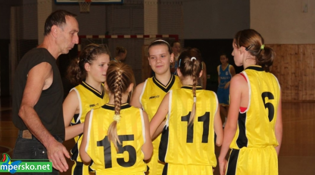 BASKET ŽAČKY:V Olomouci odehrály dvě utkání
