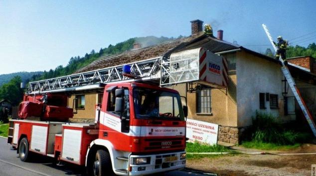 V Olšanech na Šumpersku hořelo řeznictví
