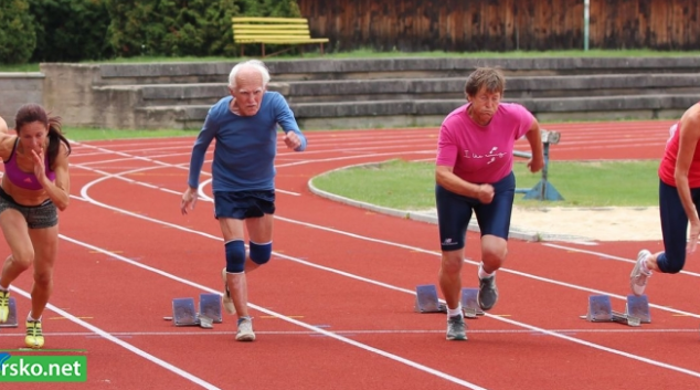 Šumperský Šikula - závody  atletických veteránů