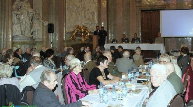 Na Klášterním Hradisku v Olomouci měli setkání váleční veteráni