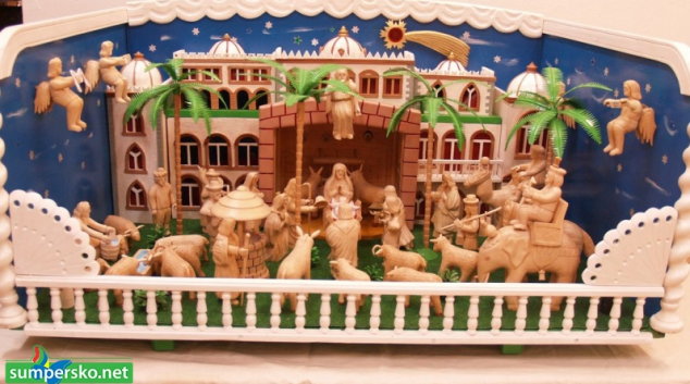 Galerii Šumperska zaplní řezbářské betlémy