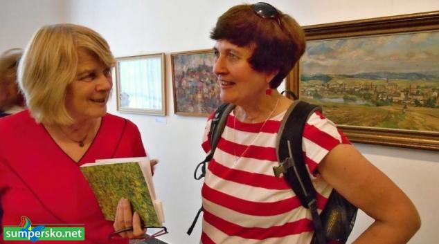 """Historička Milena Filipová je autorkou výstavy """"Výtvarné Zábřežsko"""""""