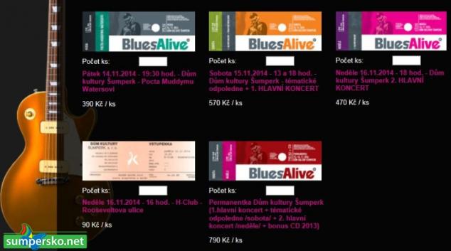 Skvělá zpráva pro příznivce Blues Alive