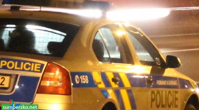 Opilý řidič ujížděl na Olomoucku před policií a narazil do stromu