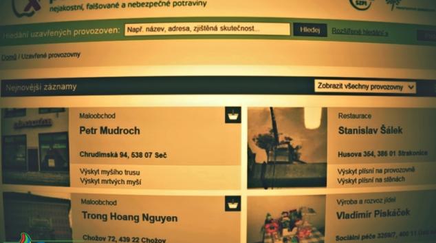 Uzavřené provozovny jsou nově na webu Potraviny na pranýři